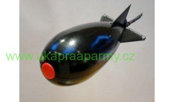 Krmící raketa Spomb Bait Rocket mini černá