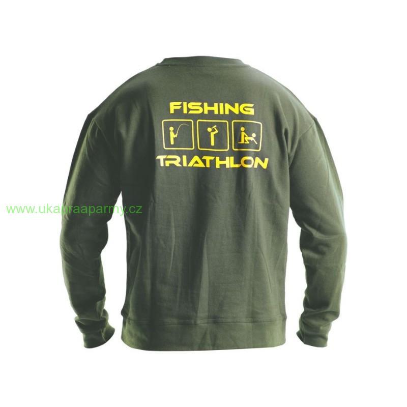 Doc Fishing Mikina TRIATHLON zelená vel.XXXL