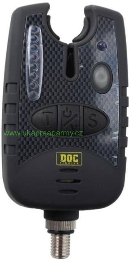 Signalizátor záběru DOC Fishing s připojením zelená dioda