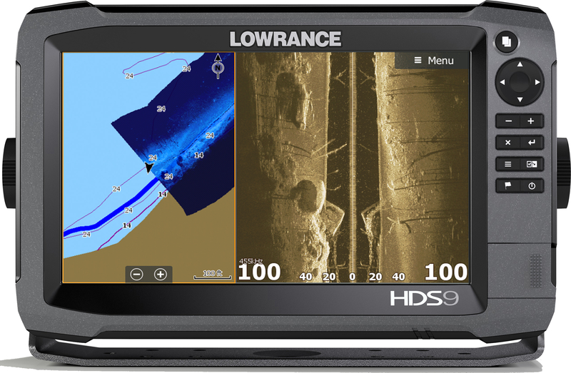 Lowrance HDS-9 Gen3 ROW 83/200 kHz a StructureScan