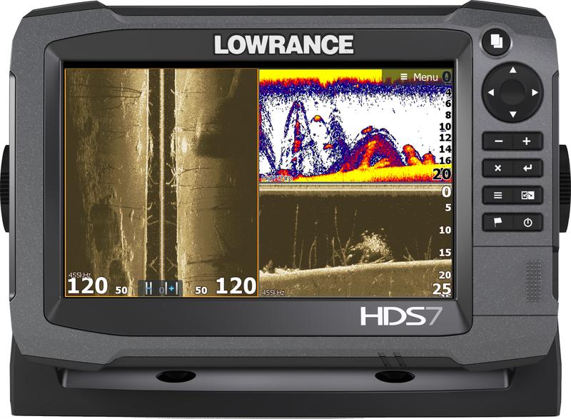 Lowrance HDS-7 Gen3 ROW 83/200 kHz a StructureScan
