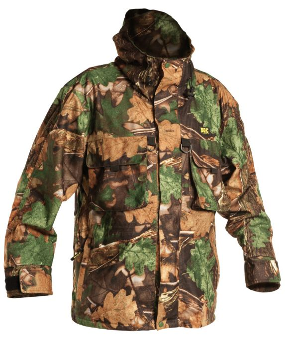 DOC Fishing AMAZONIA camouflage - Rybářská nepromokavá bunda vel.XXL